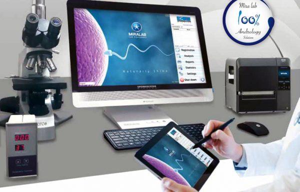 Máy đếm tinh trùng tự động / Máy phân tích tinh trùng tự động Spermolyzer
