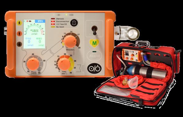 Máy thở di động dùng trên xe cứu thương, cấp cứu AII6000S