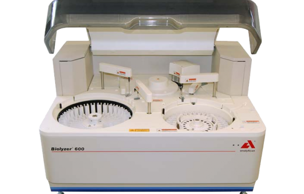 Máy phân tích sinh hoá tốc độ 400 test/h Biolyzer 600