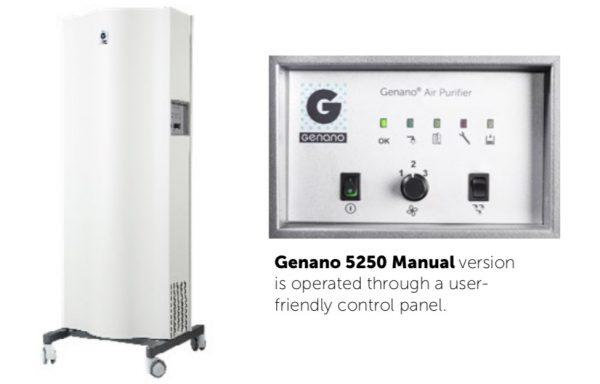 Máy lọc và khử khuẩn không khí bệnh viện Genano 5250 – Phần Lan