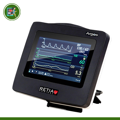 Monitor đo cung lượng tim – monitor đo huyết động không xâm lấn Argos Mỹ