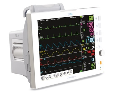 Monitor theo dõi bệnh nhân Compact 5 / 7 / 9 – Medical Econet – Đức/Hàn Quốc