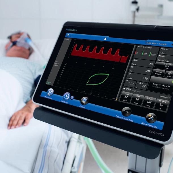 Bệnh viện đa khoa Tây Ninh sử dụng máy thở IMT cho Việt Phan cung cấp