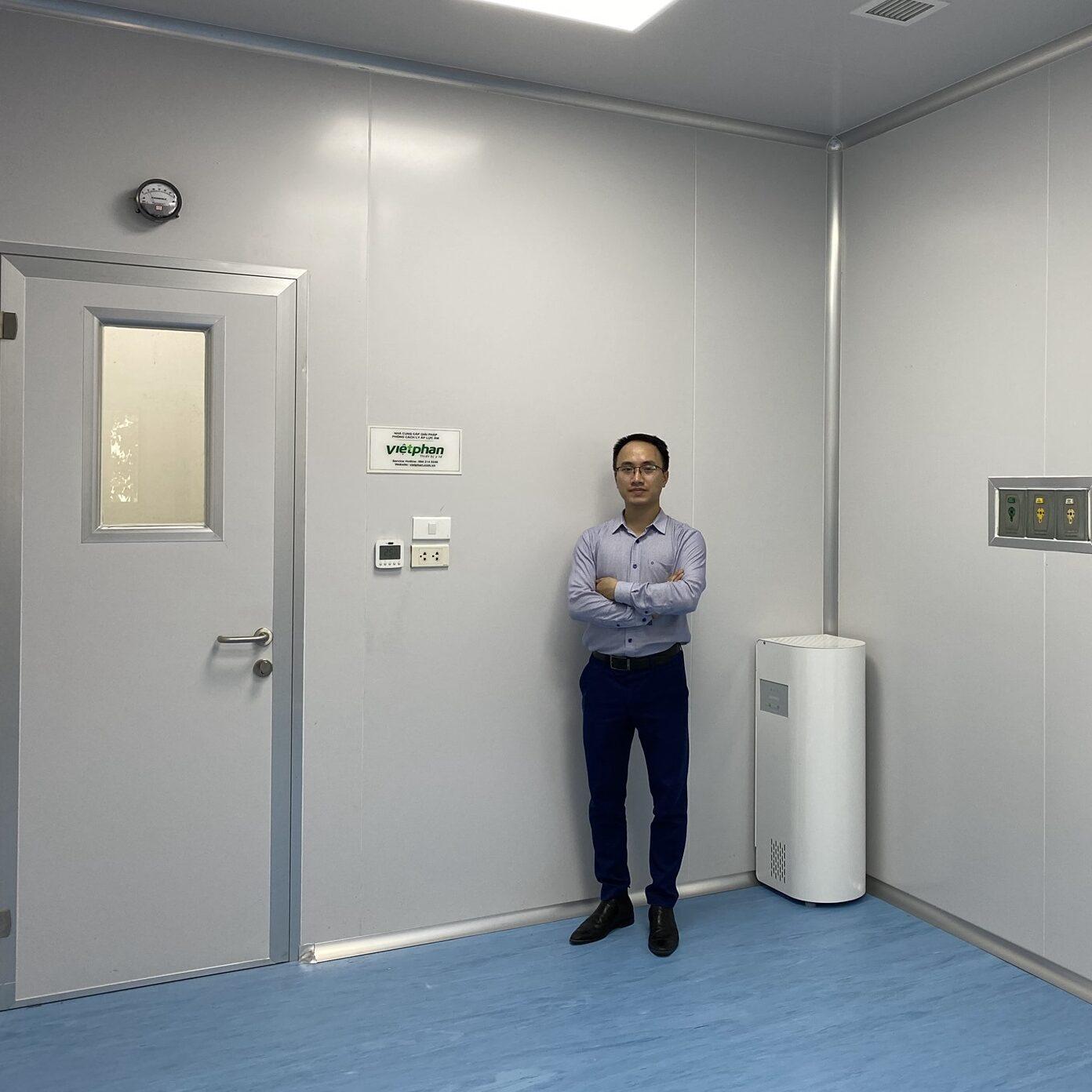 Phòng cách ly áp lực âm Genano Elixair Phần Lan