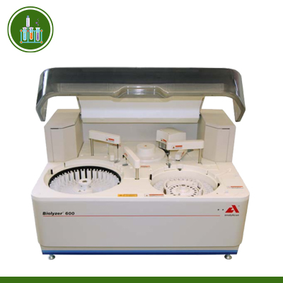 Máy xét nghiệm sinh hoá tốc độ 400 test/h Biolyzer 600